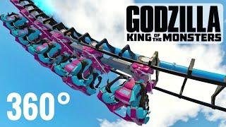 360° GODZILLA ゴジラ Roller Coaster 360 video VR POV Ride PSVR Google Cardboard