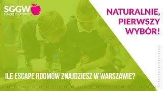 Ile escape roomów znajdziesz w Warszawie?
