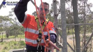 Rope Access - How to tie an Alpine Butterfly Knot - Rescue Emergency Knot for Emergency Services