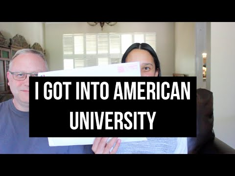 COLLEGE ADMISSIONS PROCESS   Vlog #23: I got into American University