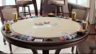Venice Reversible Top Game Table