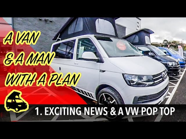 A VW Transporter pop top & an exciting new direction