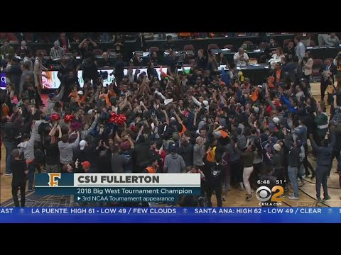Cal State Fullerton Faces Purdue In First Round Of NCAA Tournament
