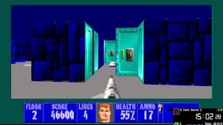 Wolfenstein 3D All Episodes Speed Run in 34:02