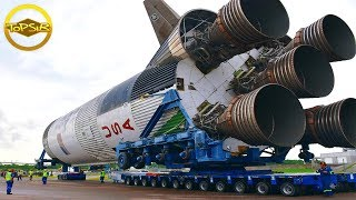 10 เครื่องจักรยักษ์ใหญ่ที่สุดเท่าที่เคยบรรทุกบนถนนมา (ใหญ่จริงๆ)