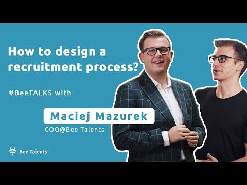 How to design a RECRUITMENT PROCESS?