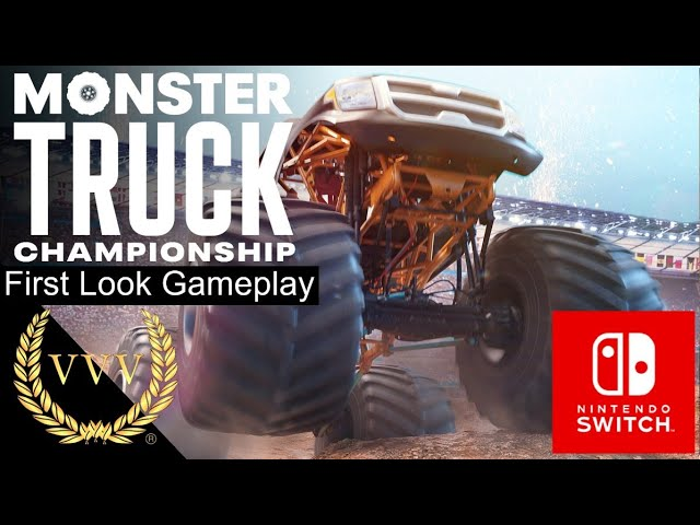 Monster Truck Championship - Nintendo Switch - First Look