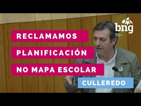 O Mapa Escolar de Culleredo no Parlamento de Galiza