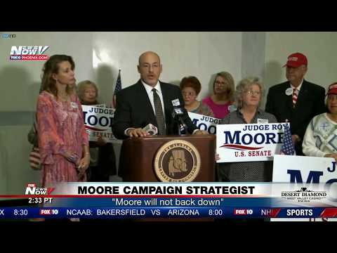 LIVE:  In Case You Missed It - Roy Moore Speaks at Campaign Event Amid Sexual Assault Allegations
