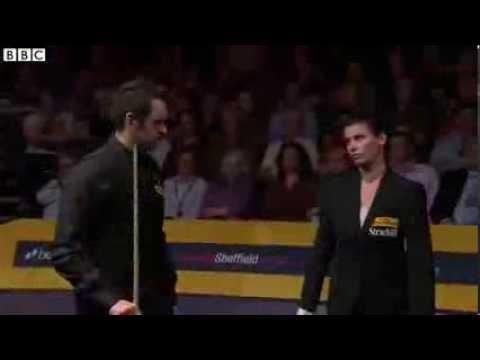 Ronnie O'Sullivan warned By Michaela Tabb