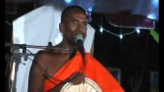 Kagama Sirinanda himi  darma deshana at Pahala Baladora  part 2