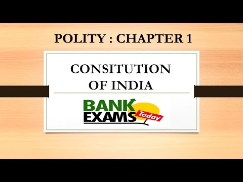 Constitution of India lecture in Hindi for SSC