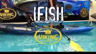 paul worsteling stand up kayak fishing viking profish gt ifish tv