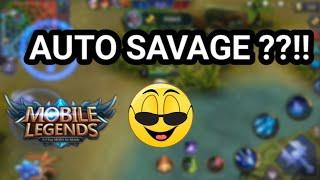 CARA AMPUH SAVAGE!! di Awal2 Match Mobile Legends