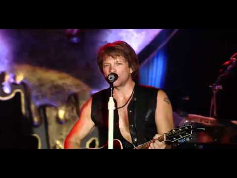 Bon Jovi - Who says you can't go home HD (live from Times Square, Best Buy Theater)