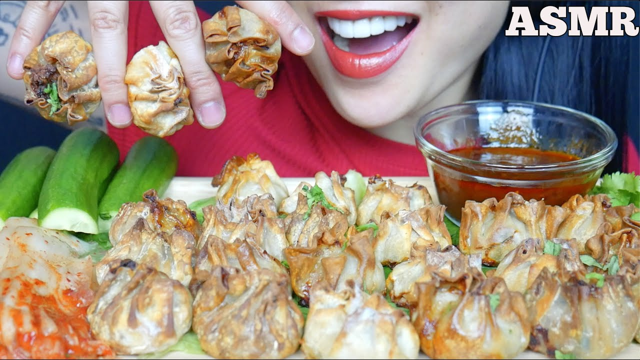 Asmr Crispy Dumpling Drops Pork Shrimp Chives Vegan Soft Crunch Eating Sound No Talking Sas Asmr Youtube Some enjoy it, some don't. asmr crispy dumpling drops pork shrimp chives vegan soft crunch eating sound no talking sas asmr