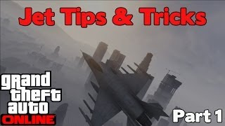 GTA Online - Jet Tips & Trick (Pro Pilot Training)