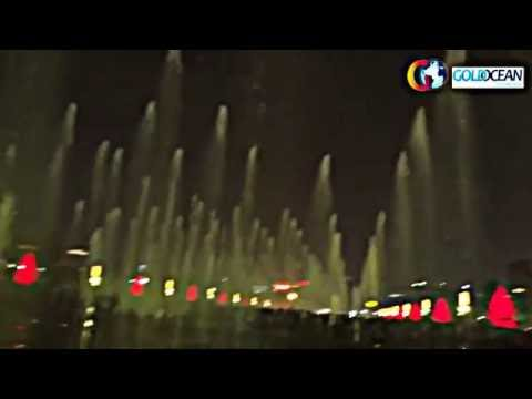 Music Dancing Dry Fountain with Inverters