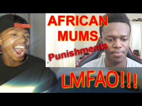 KSI African Mums: Punishments (REACTION)