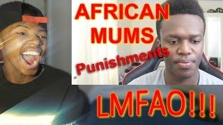 KSI African Mums: Punishments (REACTION)