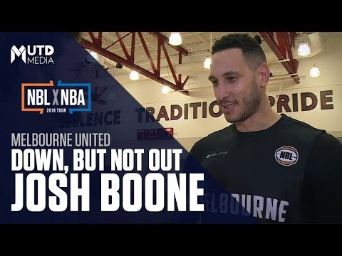 Josh Boone is Down, But Not Out