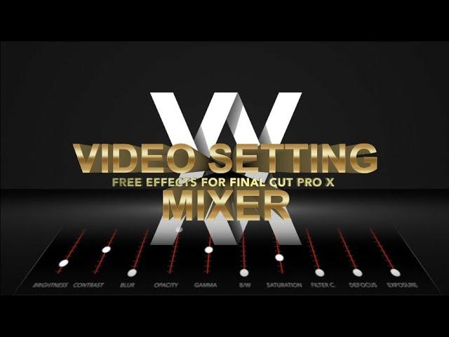 WM Setting Mixer
