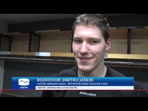 ROZHOVOR:  Dmitrij Jaškin o VHK Vsetín a NHL