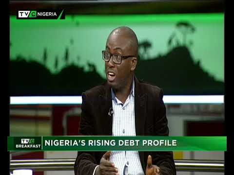 TVC Breakfast 22nd October 2018 | Nigeria's Rising Debt Profile