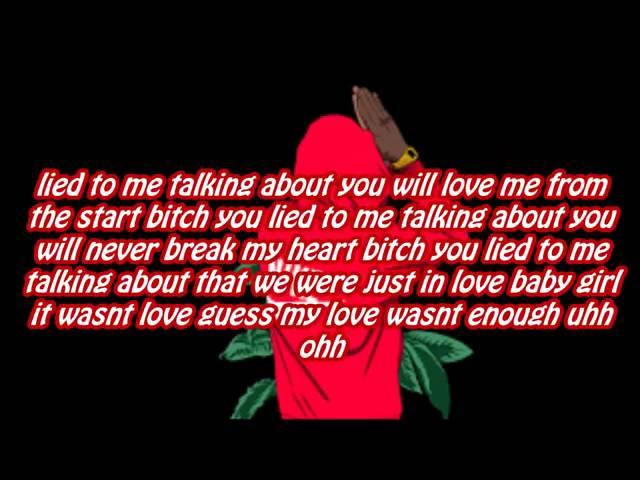 You lied to me lyrics rb