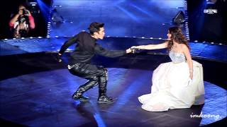[fancam] Nadech and YaYa @ Give Me 5 [20141025]