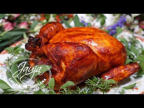 Pollo Adobado Relleno para los que No Quieren Pavo