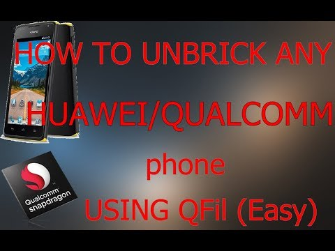 How to unbrick any Huawei phone with Qualcomm CPU(Huawei Ascend Y530)[SIMPLE & EASY]