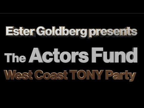 THE ACTORS FUND WEST 18th TONY RED CARPET RENEE MARINO JERSEY BOYS