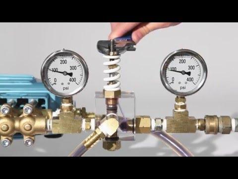 Cat Pump Training Video Regulator vs Unloader Valve Product Comparison