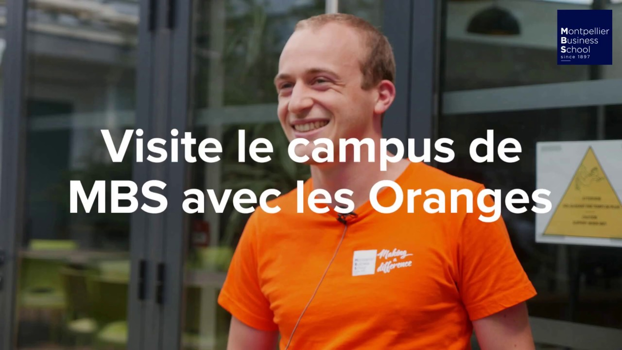 Montpellier Business School : Visite guidée du campus