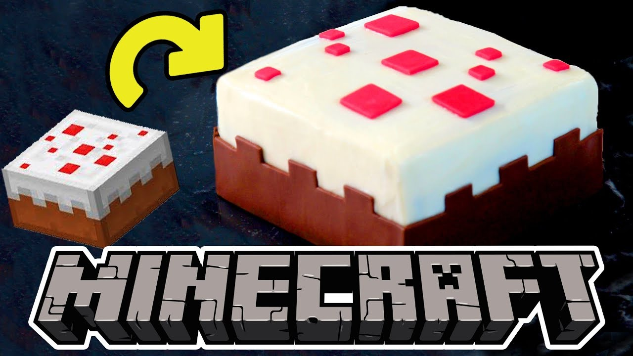 Minecraft Cake How To Part