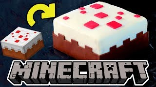 Minecraft Cake in Real Life Part 2