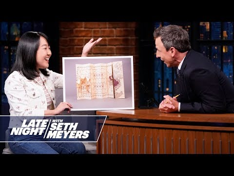 What Does Millennial Late Night Writer Karen Chee Know: PalmPilots, Oasis
