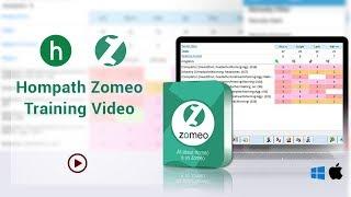 Training Video of Hompath Zomeo Homeopathy Software screenshot 3