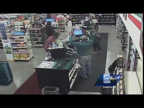 Surveillance Video: Armed robbery at O'Reilly Auto Parts