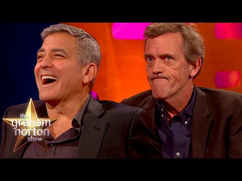 George Clooney & Hugh Laurie Find Out Who Would Be A Better Doctor   The Graham Norton Show