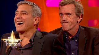 George Clooney & Hugh Laurie Find Out Who Would Be A Better Doctor | The Graham Norton Show