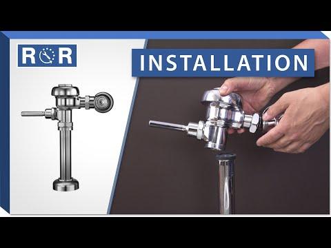 Sloan Regal Flushometer | Installation | Repair and Replace