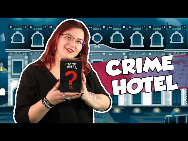 [À la découverte de ...] CRIME HOTEL chez Aurora Games