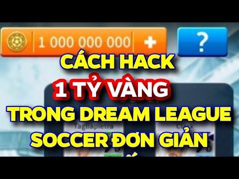 cách hack tiền dream league soccer 2018 android - HƯỚNG DẪN CÁCH HACK TIỀN (1 TỶ VÀNG) TRONG DREAM LEAGUE SOCCER ĐƠN GIẢN