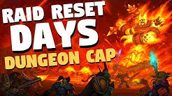 Classic WoW Raid Reset Days and Schedule | Player Caps for Classic WoW Dungeons | World of Warcraft