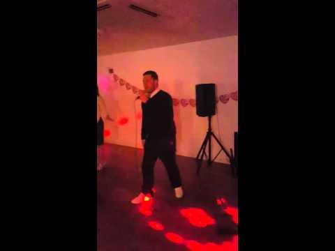 Drunken karaoke - don't stop me now