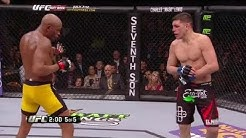 Anderson Silva vs Nick Diaz Fight HIGHLIGHTS (The Apocalypse)