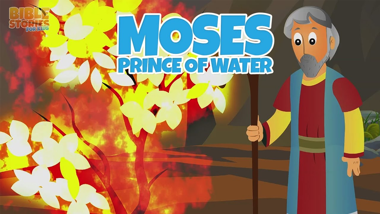 moses and the burning bush bible stories for kids