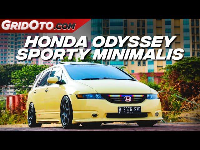 Modifikasi Honda Odyssey RB1 Warna Beda Gayanya Sporty | Modifikasi Mobil | GridOto Modif